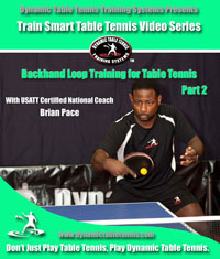 BH Loop Training for Table Tennis, Part 2 (Front Cover)