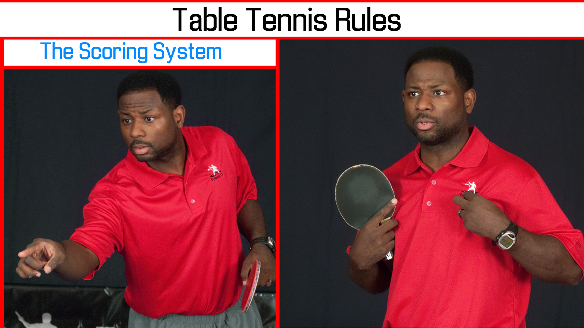 Table Tennis Rules – The Scoring System