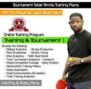 4. Tournament TT Cover - Tournament Plan Trainiing & Tournament Cover