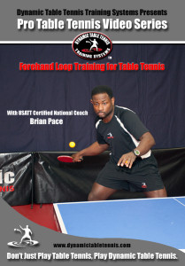FH Loop Training for Table Tennis DVD Cover