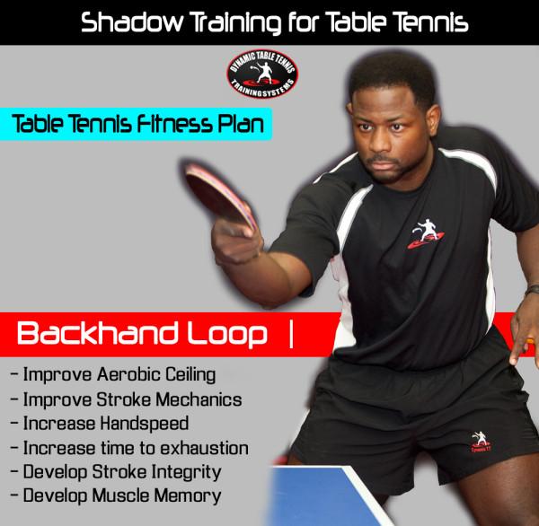 Shadow Training - Backhand Loop
