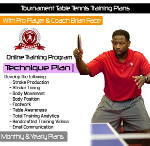 Tournament TT Cover - Technique Plan Cover