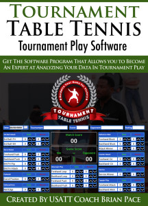 Tournament Table Tennis Software - Game Play Software
