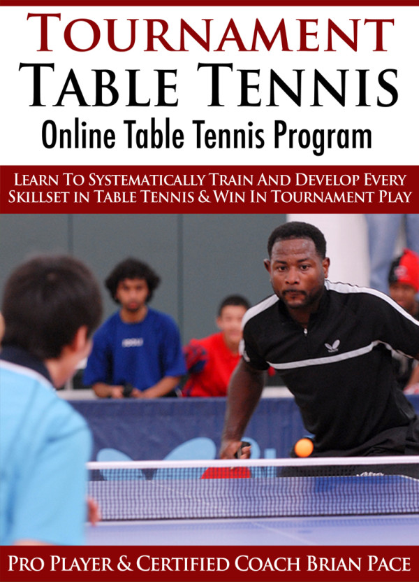 Tournament Table Tennis Video - Online Training Program Cover