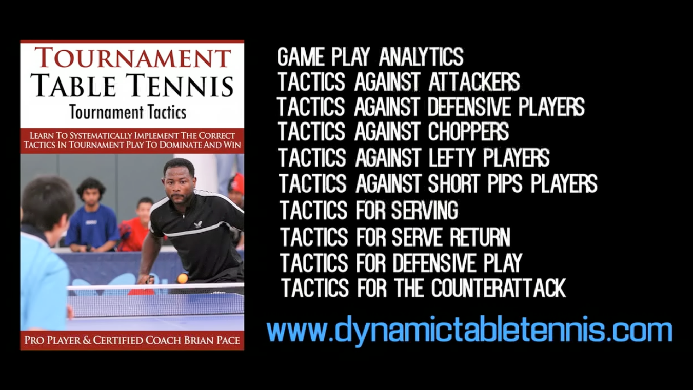 Tournament Tactics Training Video – New